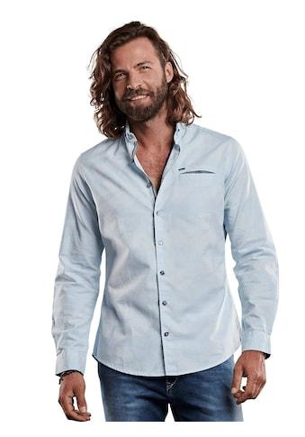 emilio adani Fein gemustertes Hemd mit einzigartigen Knöpfen kaufen