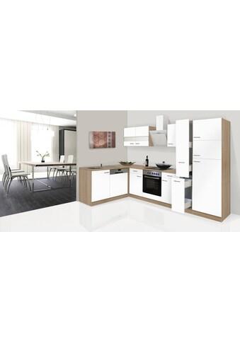 RESPEKTA Küchenzeile »Hamburg«, mit E-Geräten, Breite 170 x 310 cm kaufen
