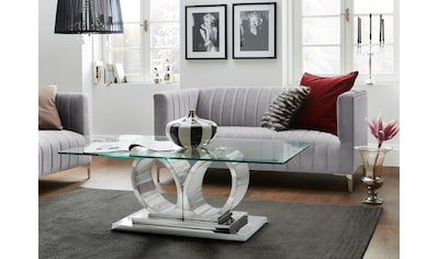 Leonique Sofa »Beverly Hills«, mit stilvollem Chromgestell, in extravagantem Design kaufen