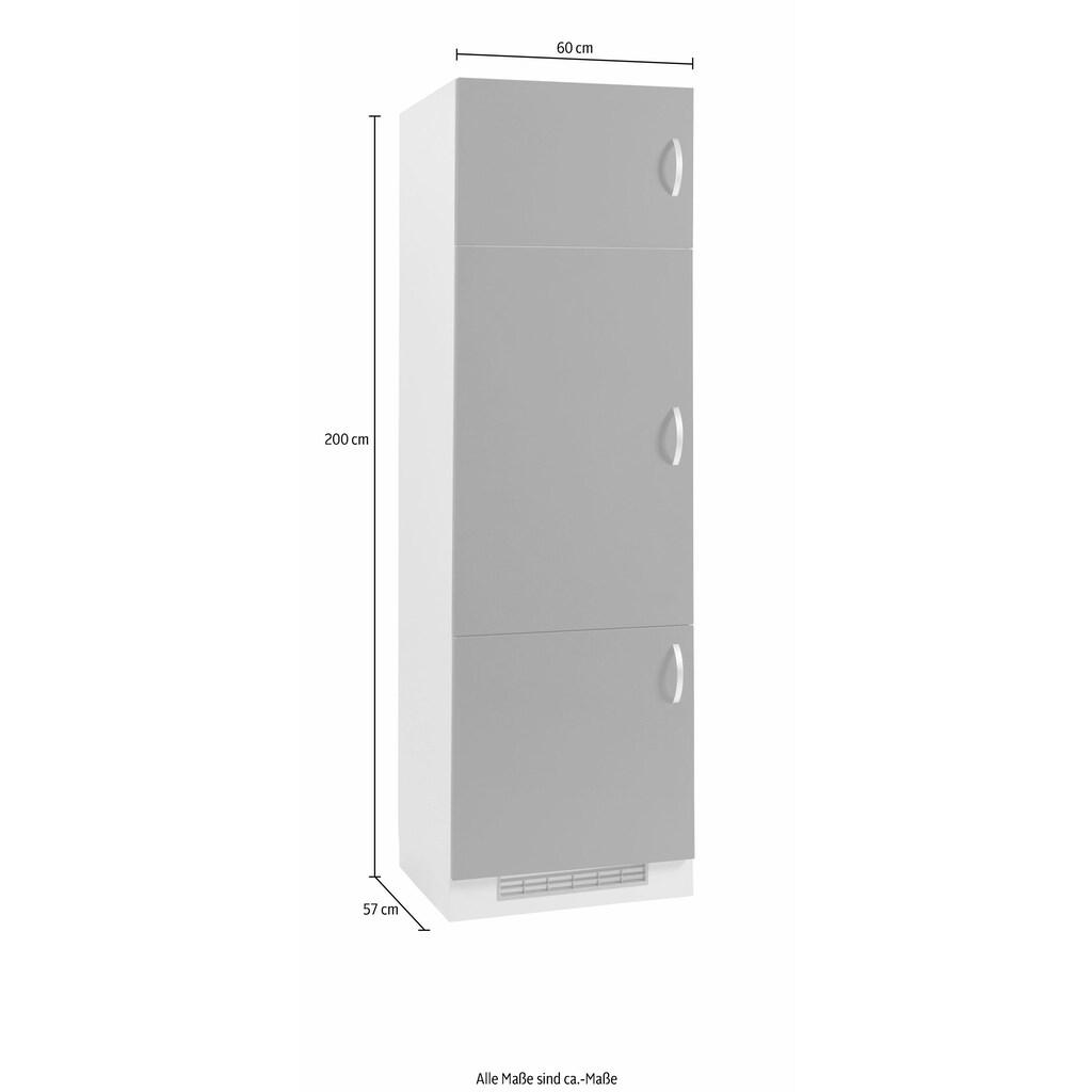 wiho Küchen Kühlumbauschrank »Amrum«, 60 cm breit
