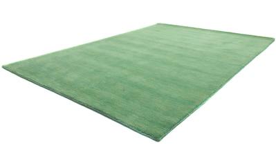 morgenland Wollteppich »Gabbeh Teppich Uni«, rund, 18 mm Höhe kaufen