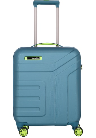 "travelite Hartschalen - Trolley ""Vector, 55 cm, Petrol/Limone"", 4 Rollen kaufen"