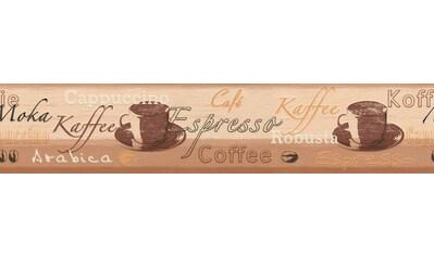A.S. CRÉATION Bordüre »Only Borders«, mit Kaffeemotiv kaufen
