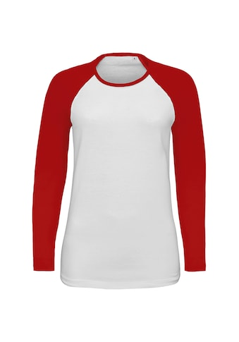 SOLS Longsleeve »Damen Langarmshirt mit Kontrastärmeln« kaufen