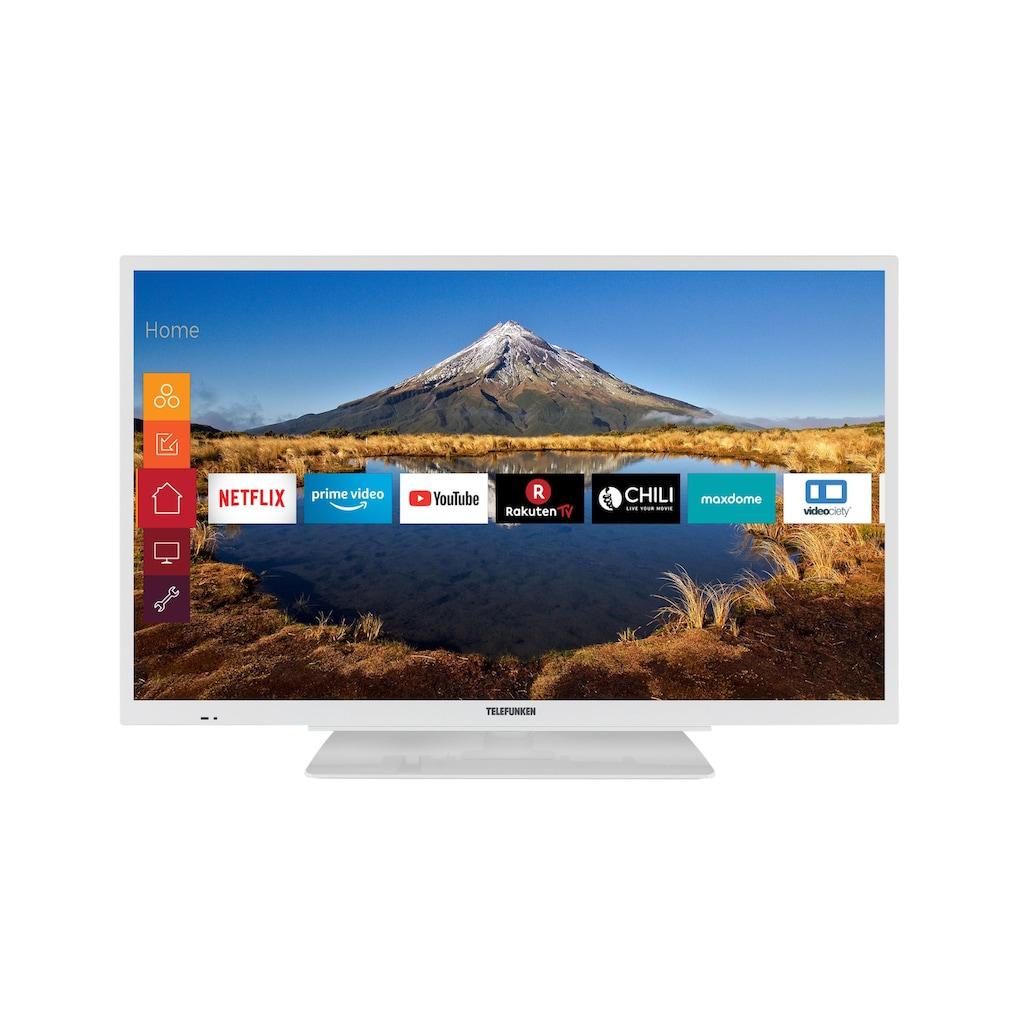 Telefunken XF32G511-W LED-Fernseher (81 cm / (32 Zoll), Full HD, Smart-TV