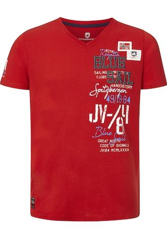 Jan Vanderstorm T-Shirt »KOLBJORN«, komfortable Passform kaufen