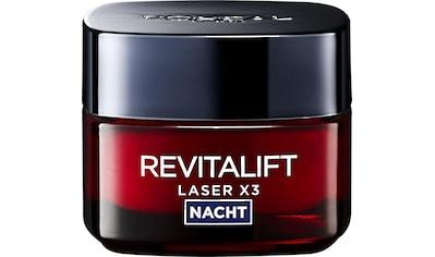 """L'ORÉAL PARIS Nachtcreme """"RevitaLift Laser X3 Nachtpflege"""" kaufen"""