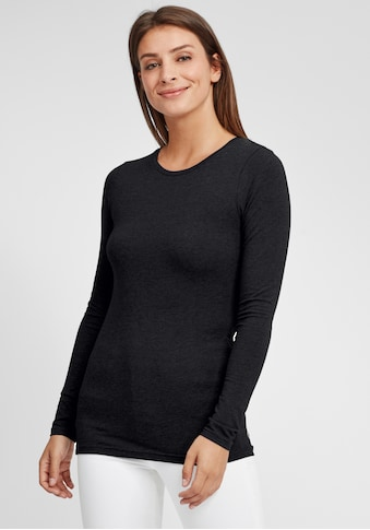 OXMO Langarmshirt »Marie«, Longsleeve in Basic-Optik kaufen