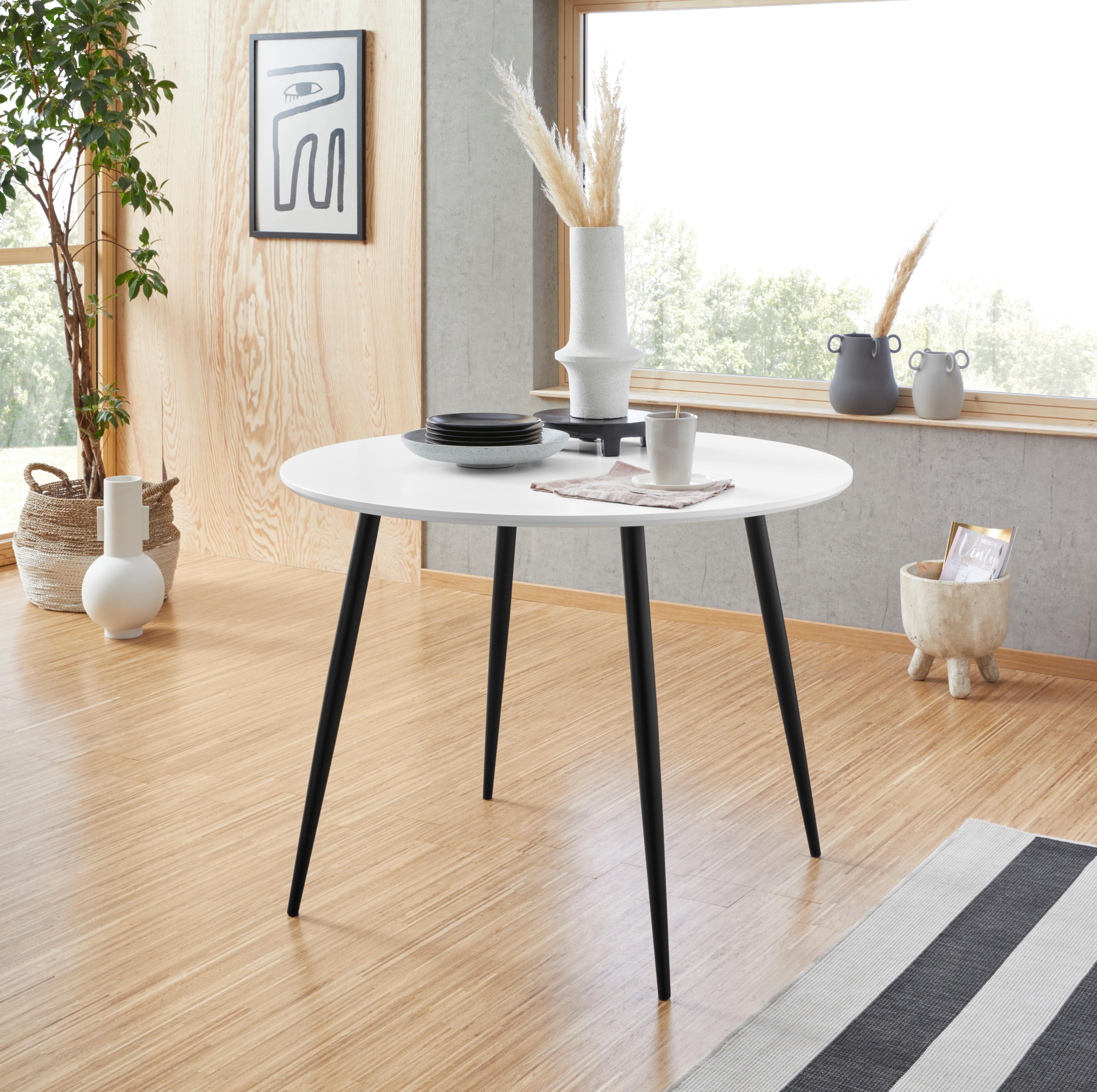 Esstisch Dino weiß Esstische rund oval Tische Tisch