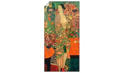 Artland Wandbild »Die Tänzerin«, Frau, (1 St.), in vielen Größen & Produktarten... kaufen