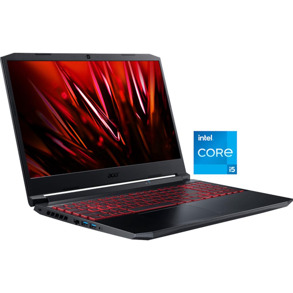 "Acer Notebook »Nitro 5 AN515-57-51RF«, (39,62 cm/15,6 "" Intel Core i5 GeForce RTX 3050 Ti\r\n 512 GB SSD), Kostenloses Upgrade auf Windows 11, sobald verfügbar"