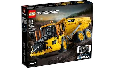 LEGO® Konstruktionsspielsteine »Knickgelenkter Volvo-Dumper 6x6 (42114), LEGO® Technic«, (2193 St.) kaufen