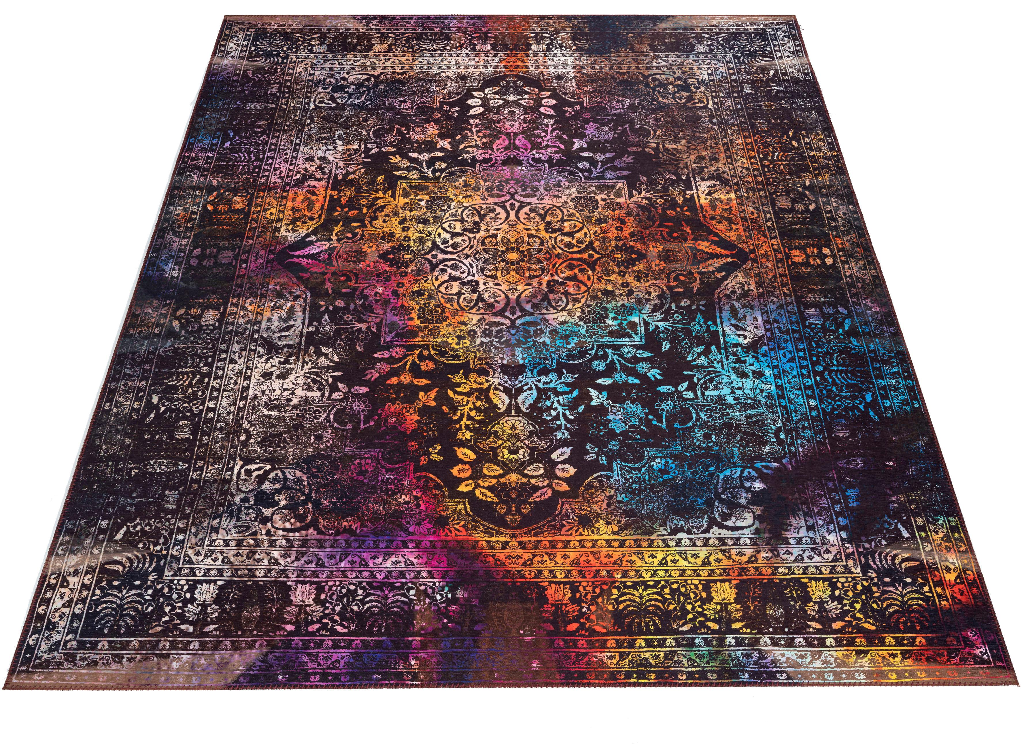Teppich Emery Bruno Banani rechteckig Höhe 6 mm maschinell gewebt