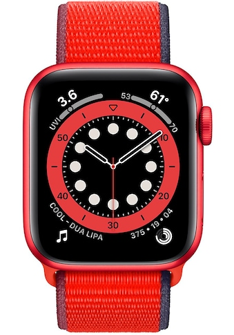 Apple Series 6, OLED, Touchscreen, 32 GB, WLAN, GPS, 40mm Watch (Watch OS 6) kaufen