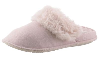 Crocs Pantoffel »Classic Luxe Slipper« kaufen