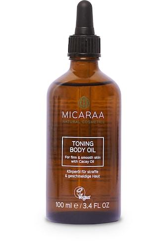 MICARAA NATURAL COSMETICS Körperpflegemittel »Bio Schwangerschaftsöl Anti Cellulite«, mit Arganöl kaufen