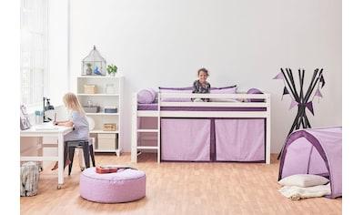 Hoppekids Hochbett »Beautiful Bloom«, (Set), umbaubar in ein Einzelbett kaufen
