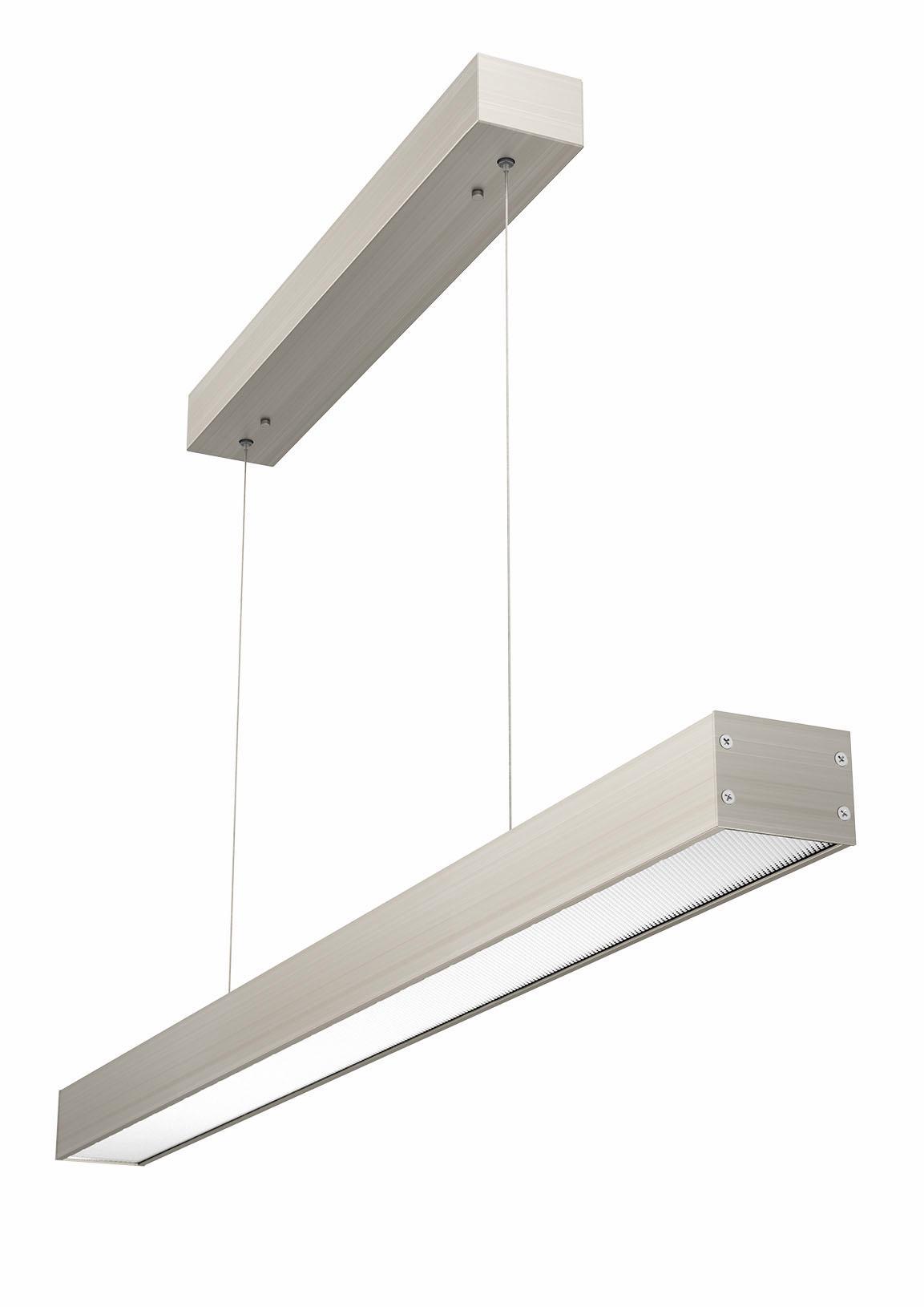EVOTEC LED Pendelleuchte OFFICE ONE, LED-Board, Neutralweiß, LED Hängelampe, LED Hängeleuchte, dimmbar