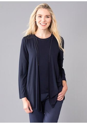 Hajo Shirtjacke, mit Strassapplikationen kaufen