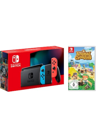 Nintendo Switch Konsolen-Set, inkl. Animal Crossing New Horizons kaufen