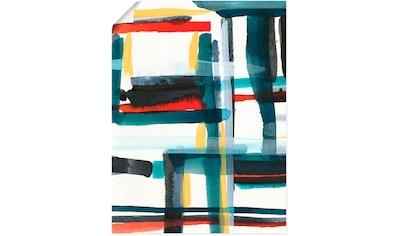 Artland Wandbild »Bücherregal II« kaufen