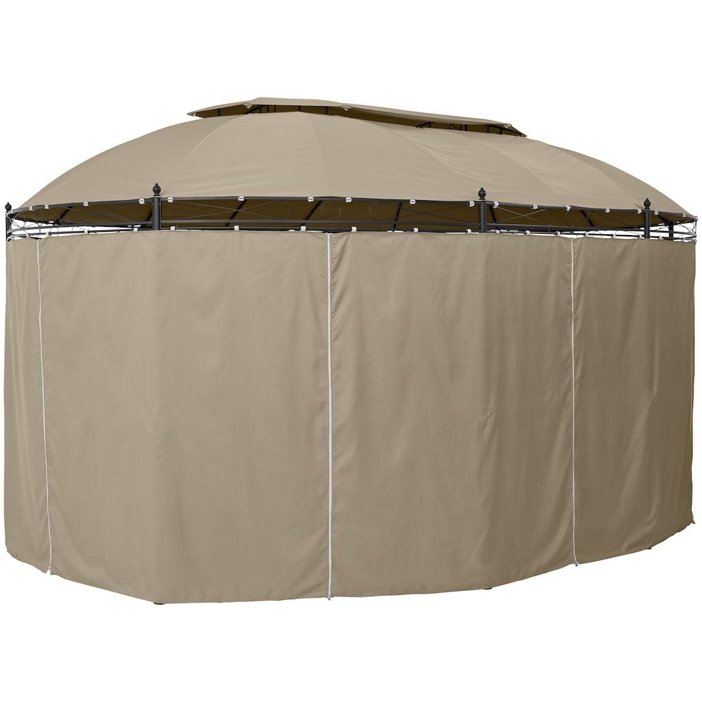 KONIFERA Pavillonseitenteile »Oval«, für Pavillongröße 3,5x5 m