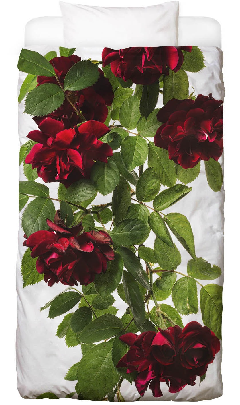 Bettwäsche Flora - Rose Juniqe