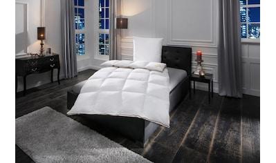 Daunenbettdecke + Federkissen, »Emilia«, OBB, (Spar - Set) kaufen
