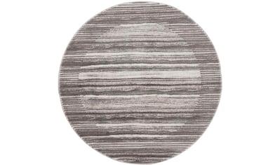 Teppich, »Noa 9301«, Carpet City, rund, Höhe 11 mm, maschinell gewebt kaufen
