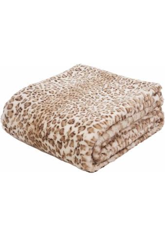 Wohndecke »Leopard«, Gözze kaufen