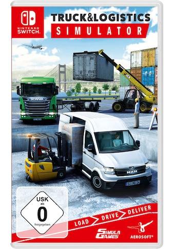 aerosoft Spiel »Truck & Logistic Simulator«, Nintendo Switch kaufen