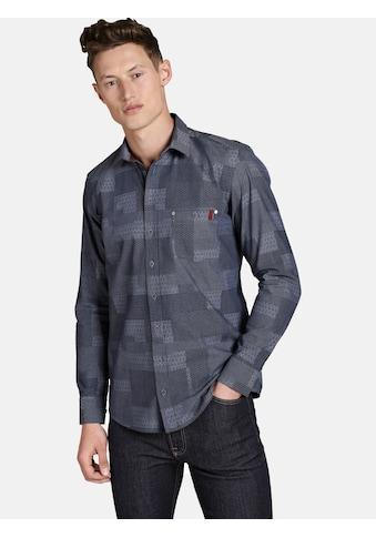 SHIRTMASTER Langarmhemd »mixedstyles« kaufen