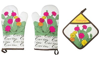 stuco Topfhandschuhe »Kaktus«, (Set, 3 tlg.) kaufen