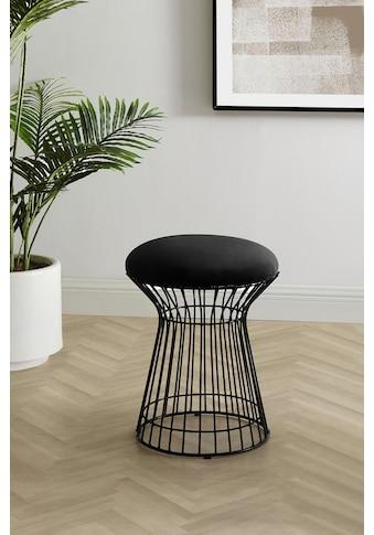 COUCH♥ Sitzhocker »Strebsam«, gepolsterte Sitzfläche kaufen