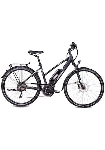Chrisson E-Bike »E-ACTOURUS Damen«, 10 Gang, Shimano, Deore RD-T6000-SGS, Mittelmotor 250 W kaufen