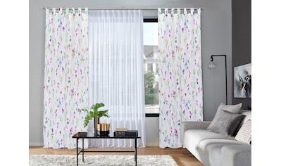 Home affaire Gardine »Frühlingsblume« kaufen