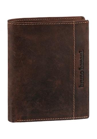 Bruno Banani Geldbörse, aus Leder im Hochformat kaufen