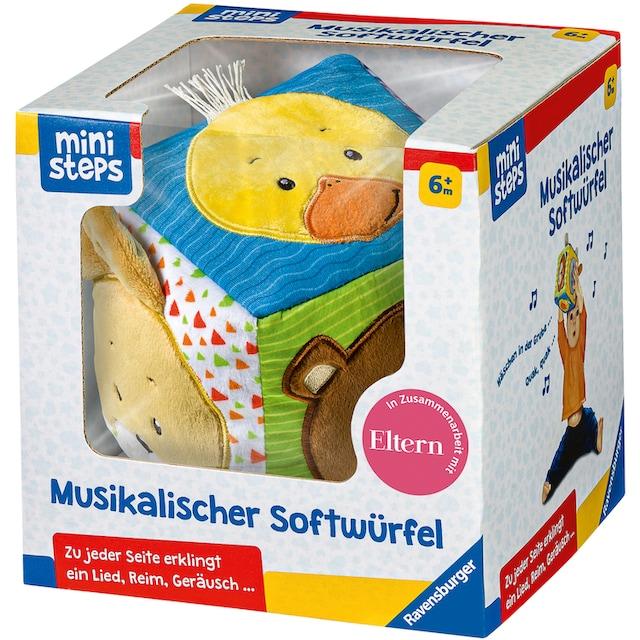 """Ravensburger Greifspielzeug """"ministeps® Musikalischer Softwürfel"""""""