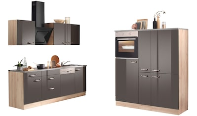 OPTIFIT Küchenzeile »Calgary«, mit E - Geräten, mit Geschirrspüler, Breite 360 cm kaufen
