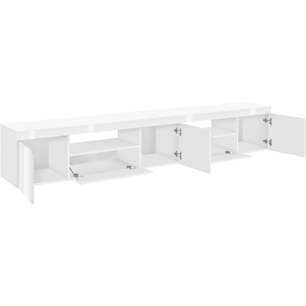 Tecnos Lowboard »Slot«, Breite 240 cm