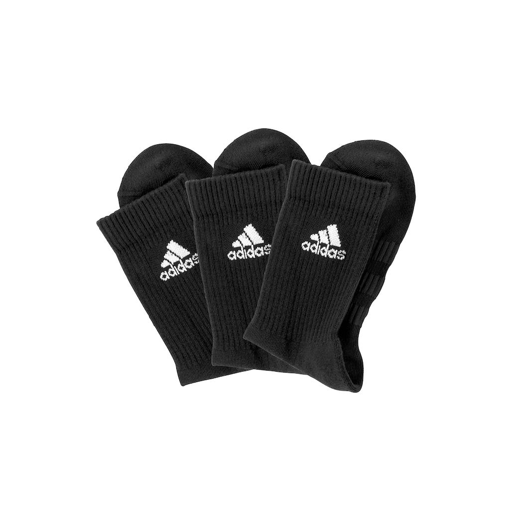 adidas Performance Tennissocken, (3 Paar), mit Fuß Polsterung