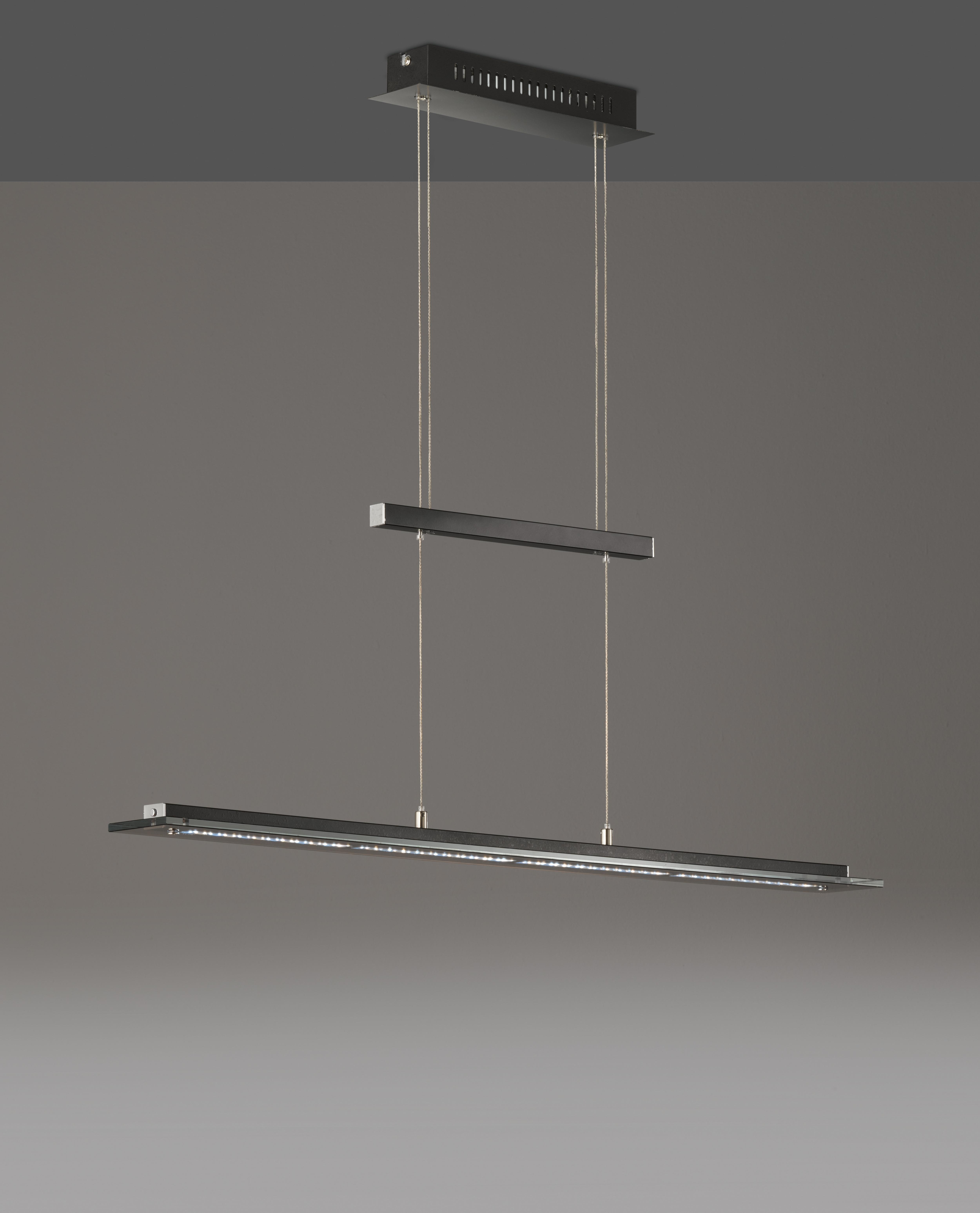 FISCHER & HONSEL LED Pendelleuchte Tenso TW, LED-Modul, Warmweiß-Neutralweiß