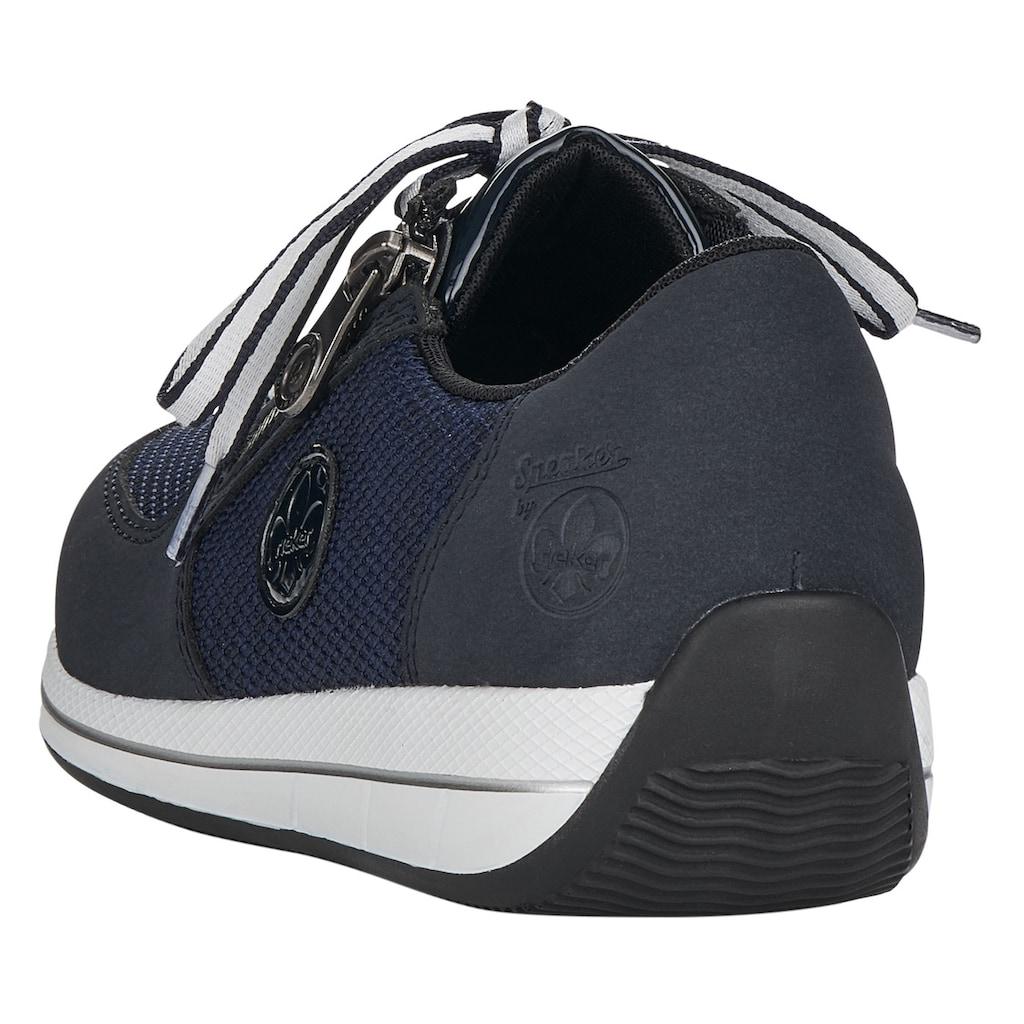 Rieker Keilsneaker, mit herausnehmbarer Lederinnensohle