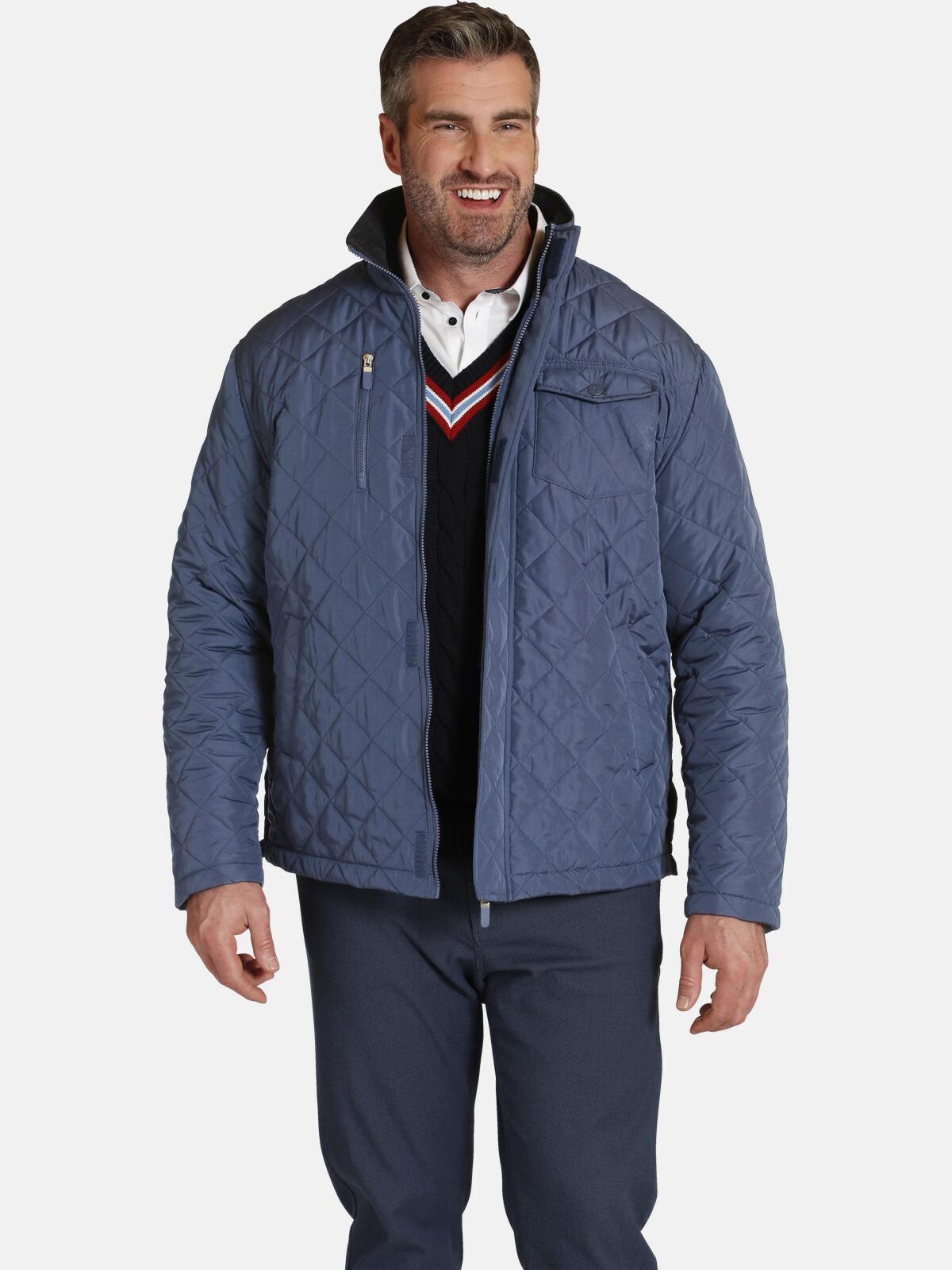 charles colby -  Steppjacke SIR CYNFARCH, warm wattiert, viele Taschen
