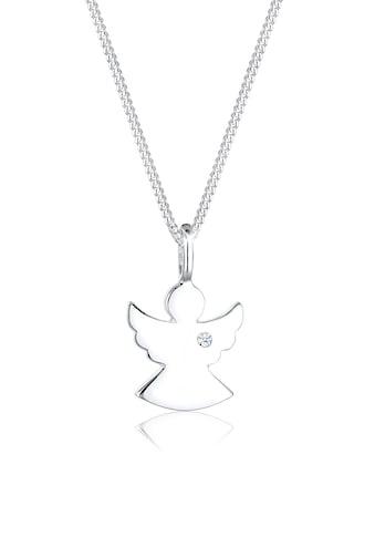 Diamore Collierkettchen »Engel Talisman Diamant (0.02 ct.) 925 Silber« kaufen
