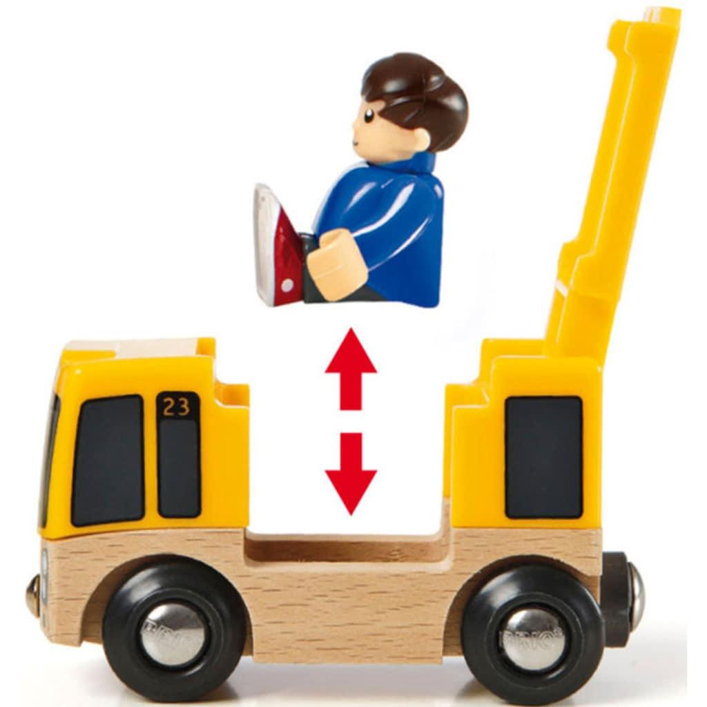 BRIO® Spielzeug-Eisenbahn »BRIO® WORLD Straßen & Schienen Reisezug Set«, FSC®-Holz aus gewissenhaft bewirtschafteten Wäldern