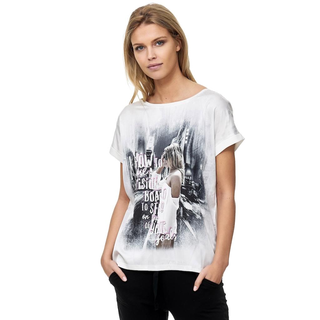 Decay T-Shirt, mit großflächigem Aufdruck 3317486