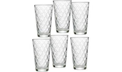 Ritzenhoff & Breker Longdrinkglas »Wela«, (Set, 6 tlg., 6 Longdrinkgläser, je 400 ml),... kaufen