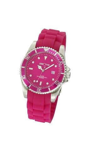 Zeeme Uhr pink Silikon Datumsanzeige kaufen
