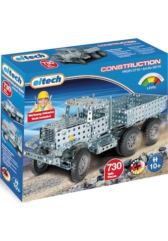 Eitech Metallbaukasten »Großer Truck«, (730 St.), Made in Germany kaufen